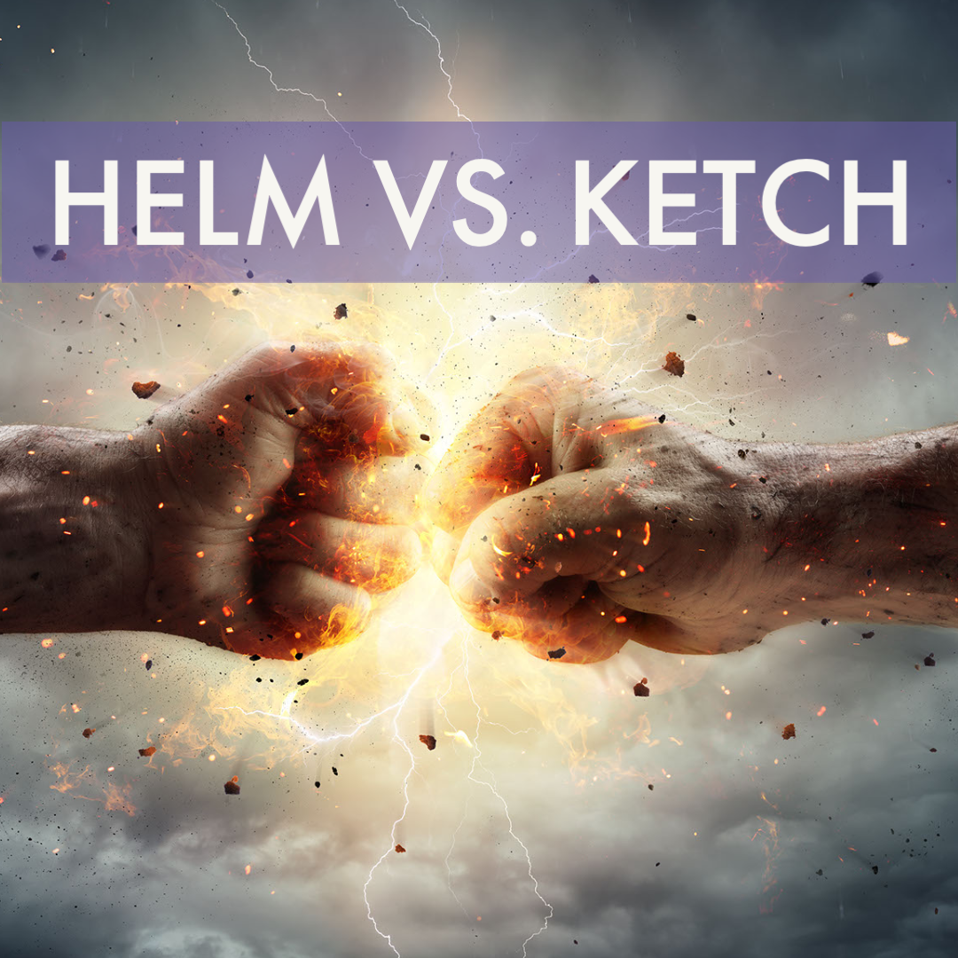 Helm vs Ketch